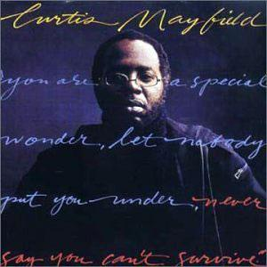 Album  Cover Curtis Mayfield - Do It All Night on CURTOM Records from 1978