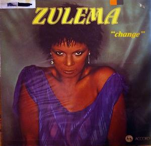 Album  Cover Zulema - Change on ACCORD Records from 1978