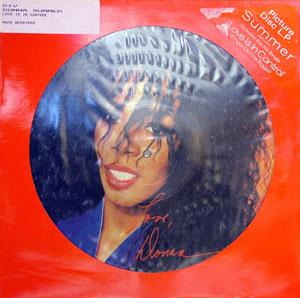 Front Cover Album Donna Summer - Love's In Control