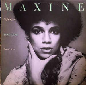 Album  Cover Maxine Nightingale - Love Lines on UNITED ARTISTS Records from 1978