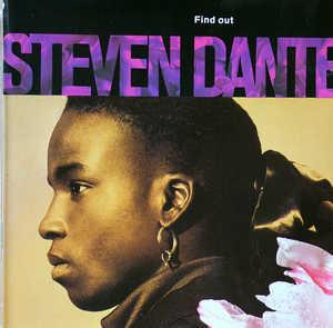 Album  Cover Steven Dante - Find Out on CHRYSALIS Records from 1988