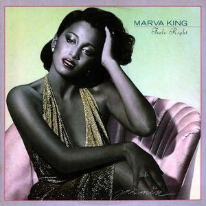 Front Cover Album Marva King - Feels Right
