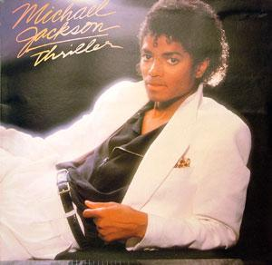 Album  Cover Michael Jackson - Thriller on ATLANTIC Records from 1982