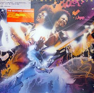 Album  Cover The Brothers Johnson - Blam! on A&M Records from 1978