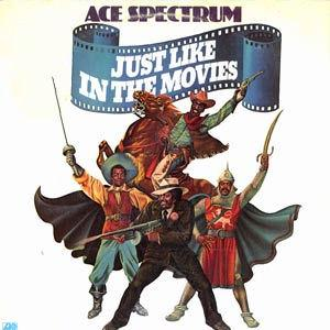 Front Cover Album Ace Spectrum - Just Like In The Movies