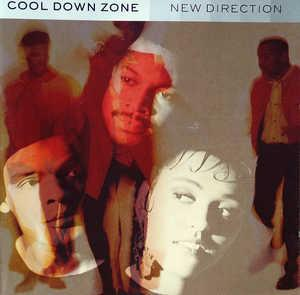 Album  Cover Cool Down Zone - New Direction on 10 Records from 1990