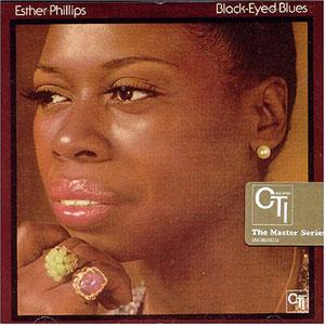 Album  Cover Esther Phillips - Black-eyed Blues on KUDU Records from 1973