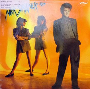 Album  Cover Nick Straker - Nick Straker on EPIC Records from 1983