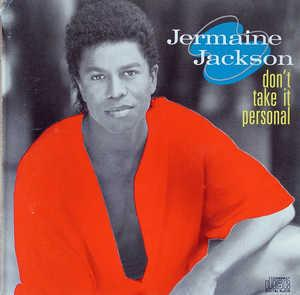 Jermaine Jackson - Don't Take It Personal - Front Cover