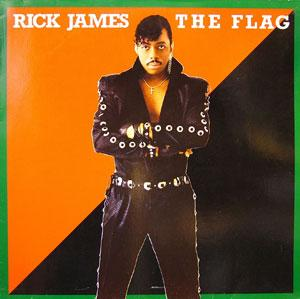 Album  Cover Rick James - The Flag on GORDY Records from 1986