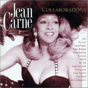 Album  Cover Jean Carne - Collaborations on EXPANSION Records from 2003