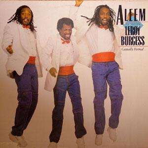 Album  Cover Aleem - Casually Formal on ATLANTIC Records from 1986