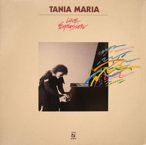 Album  Cover Tania Maria - Love Explosion on PICANTE Records from 1984