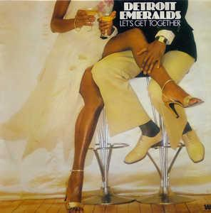 Album  Cover Detroit Emeralds - Let's Get Together on WESTBOUND Records from 1978