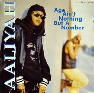 Album  Cover Aaliyah - Age Ain't Nothing But A Number on JIVE Records from 1994