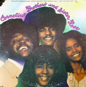 Album  Cover Cornelius Brothers & Sister Rose - Cornelius Brothers & Sister Rose on UNITED ARTISTS Records from 1972