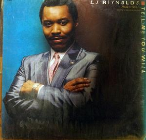 Album  Cover L.j. Reynolds - Tell Me You Will on FANTASY Records from 1987
