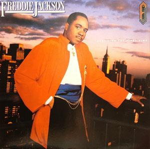 Album  Cover Freddie Jackson - Just Like The First Time on CAPITOL Records from 1986