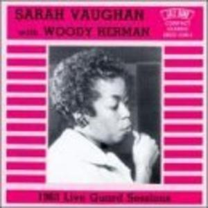 Album  Cover Sarah Vaughan - 1963 Live Guard Sessions on JAZZ BAND Records from 1994