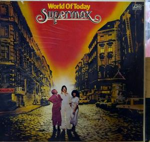 Album  Cover Supermax - World Of Today on ATLANTIC Records from 1977