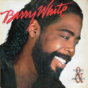 Album  Cover Barry White - The Right Night And Barry White on A&M Records from 1987
