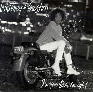 Front Cover Album Whitney Houston - I'm Your Baby Tonight