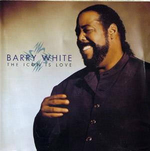 Front Cover Album Barry White - The Icon Is Love