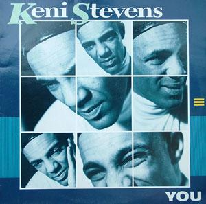 Album  Cover Keni Stevens - You on DEBUT Records from 1988