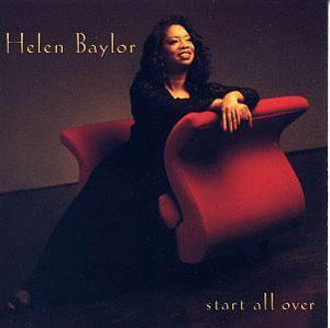 Album  Cover Helen Baylor - Start All Over on WORD Records from 1993