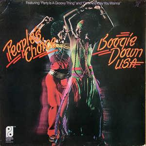 Front Cover Album People's Choice - Boogie Down U.S.A.
