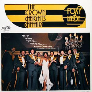 Album  Cover Crown Heights Affair - Foxy Lady on DE-LITE Records from 1976