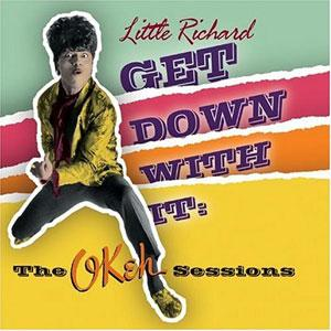 Album  Cover Little Richard - Get Down With It on EDSEL Records from 1982