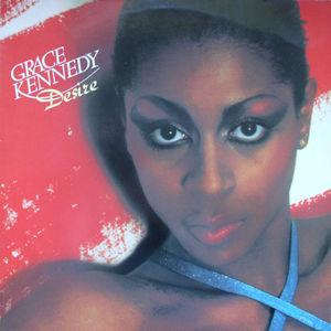 Album  Cover Grace Kennedy - Desire on DJM Records from 1979