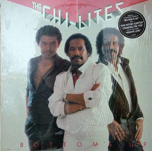 Album  Cover The Chi-lites - Bottom's Up on LARC Records from 1983