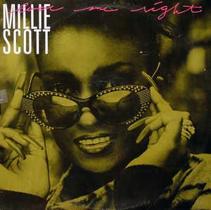 Album  Cover Millie Scott - Love Me Right on 4TH BROADWAY Records from 1987