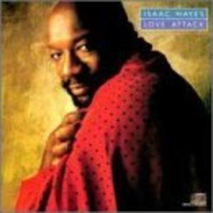 Album  Cover Isaac Hayes - Love Attack on COLUMBIA Records from 1988
