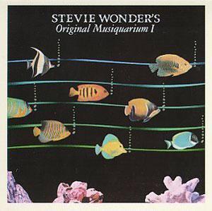 Album  Cover Stevie Wonder - Original Musiquarium on MOTOWN Records from 1982