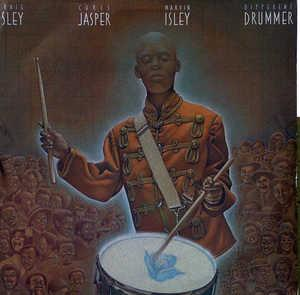 Album  Cover Isley Jasper Isley - Different Drummer on CBS Records from 1987