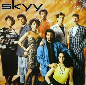 Album  Cover Skyy - From The Left Side on CAPITOL Records from 1986
