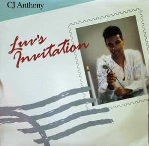 Album  Cover C.j. Anthony - Luv's Invitation on KMA Records from 1988