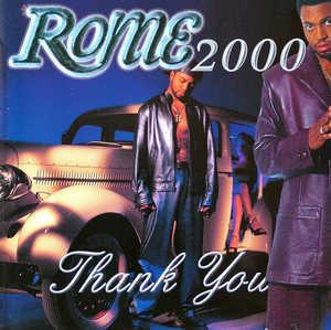 Front Cover Album Rome - Rome 2000  Thank You