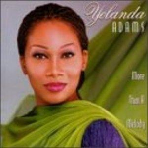 Album  Cover Yolanda Adams - More Than A Melody on VERITY Records from 1995