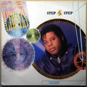 Album  Cover T.c. Curtis - Step By Step on HOT MELT Records from 1986