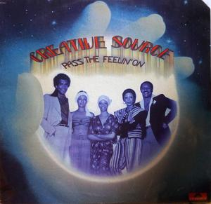 Album  Cover Creative Source - Pass The Feelin' On on POLYDOR Records from 1975