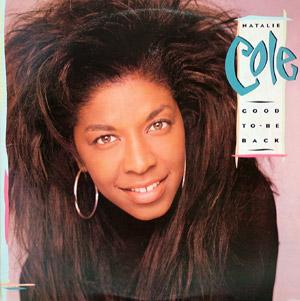 Album  Cover Natalie Cole - Good To Be Back on EMI Records from 1989