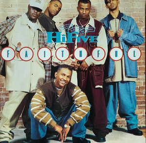 Album  Cover Hi-five - Faithful on JIVE Records from 1993