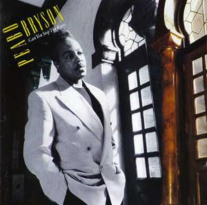 Album  Cover Peabo Bryson - Can You Stop The Rain on COLUMBIA Records from 1991