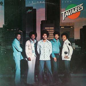 Album  Cover Tavares - In The City on CAPITOL Records from 1975