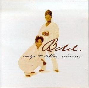 Album  Cover Angie & Debbie - Bold on CENTRAL GOSPEL Records from 1997