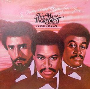 Album  Cover The Main Ingredient - I Only Have Eyes For You on ARISTA Records from 1981